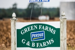 CAFO sign. North Carolina, USA.